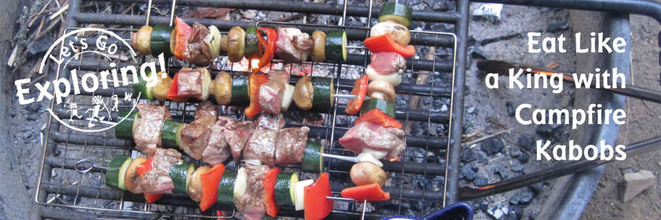 Eat Like a King with Campfire Kabobs