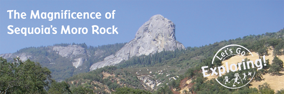The Magnificence of Sequoia's Moro Rock