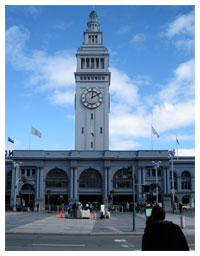 SF Ferry Building Clock Tower