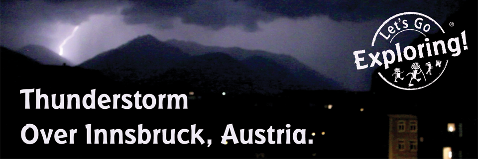 A Thunderstorm Over Innsbruck