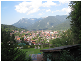 Overlooking Mittenwald