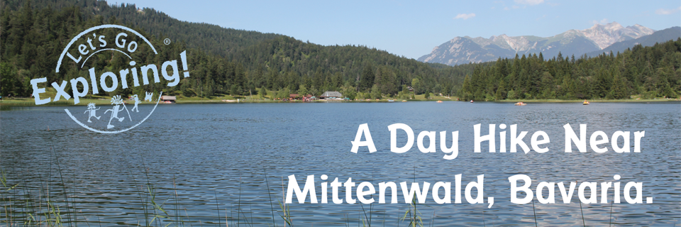 A Day Hike Near Mittenwald, Bavaria.