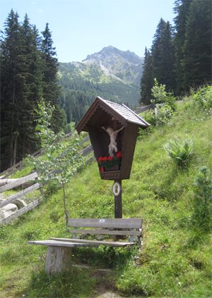 An Abundance of Shrines in Tirol