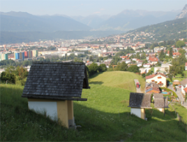 An Abundance of Shrines in Tirol - Several Near a Walking Path