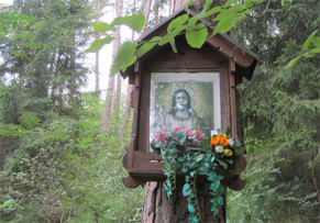 An Abundance of Shrines in Tirol - In the Forest