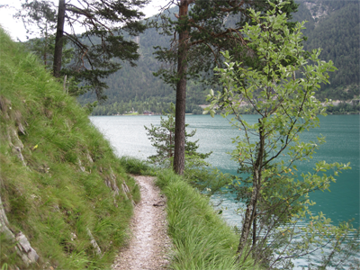 Hiking at the Achensee