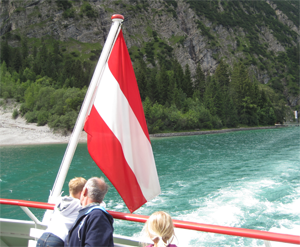 Ferry on the Achensee