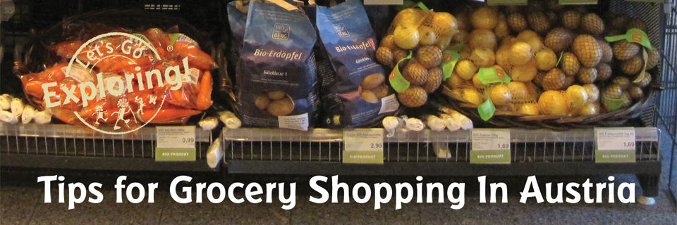 Tips for Grocery Shopping in Austria
