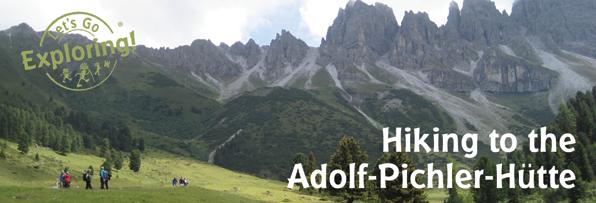 Hiking to the Adolf-Pichler-Hütte