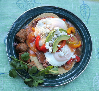 Campground Huevos Rancheros