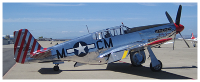 TP-51C Mustang called Betty Jane
